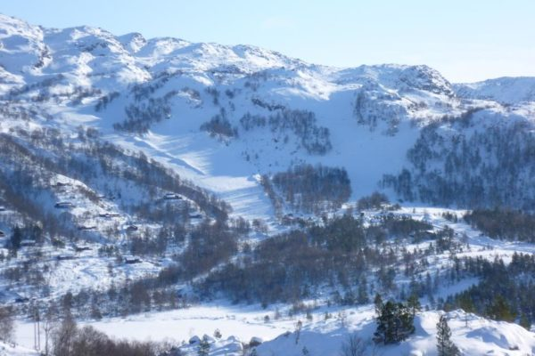 Gilja Alpin - Skitrekk på Gilja. Foto: Fnugg.no